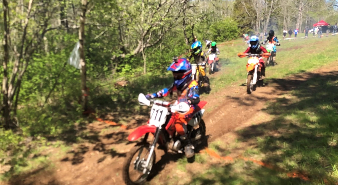 young riders on the trail
